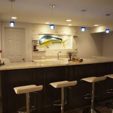 wet bar lighting. Decor \u0026 Tips: Track Lighting And Wet Bar Ideas With Sets For Basements Also Man Cave Mini Fridge Granite Countertops Kitchen Sink Faucet H
