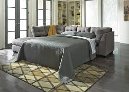 piece sectional sofa plus single cushion also gray sleeper or