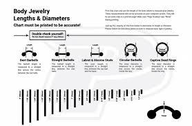 Measuring Body Jewelry Painfulpleasures Inc