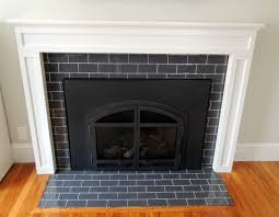soothing brown ceramic tile interior fireplace ideas