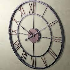 big modern wall clocks modern home large wrought iron wall clock vintage french provincial modern big