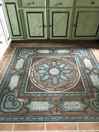 decorative floor stencils popular concrete black and white tiles for with 8