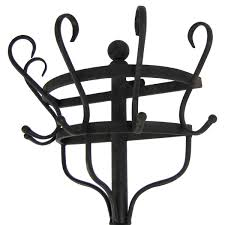 Vintage Wall Mounted Coat Rack Antique Wall Mounted Coat Rack Details About Vintage Black Metal 67