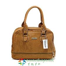 Coach Madison Embossed Medium Satchels In Brown