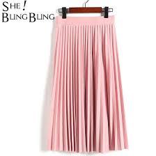 SheBlingBling Long <b>Tulle Skirt Women Summer</b> Sexy Pleated Skirts ...