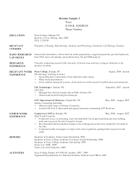 Ministry Resume Template   Free Resume Example And Writing Download