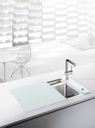 Sink With Cutting Board The Blanco Crystalline Offers An Integrated Cutting Board That