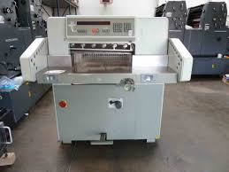 guillotines used finishing machines used polar 58 paper cutter for sale polar cutting machine