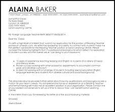 Reading Teacher Cover Letter Sample | Cover Letter Templates & Examples