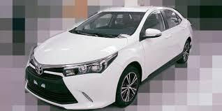 toyota new car releaseNew Toyota Corolla Altis 2016 Facelift Pics Leaked httpwww