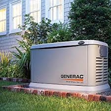 Image Magazine Protect The Things That Matter During Power Outage Amazoncom Amazoncom Generac 6730 2018 Kw Aircooled Standby Generator