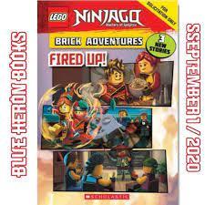 LEGO Ninjago Fired Up 2020 Book Image and Information! - - Credits:  BlueHeronBooks - #ninjago #ninjagoseason12 #ninjago2020 … | Lego ninjago, Chapter  books, Ninjago