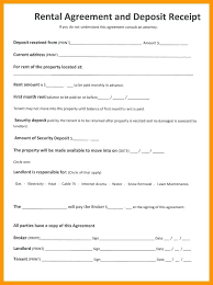 Blank Rental Lease Basic Rental Agreement Lease Template Free Word Letter Renters