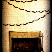 homemade decorations bat garland boys rooms stone veneer for fireplaces bathroom ideas