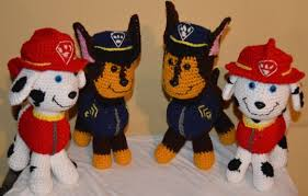 Paw Patrol Crochet Pattern Free
