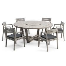 dining set for 6 ethimo costes dining set 6 seat for 6