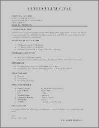 Cover Letter Outline Photo Cover Letter For Resume Template Elegant