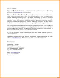 Cover Letter For The Post Of Lecturer Wa Gram Publishing