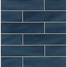 dark blue tiles. Delighful Tiles Park Place 388 With Dark Blue Tiles Wayfair