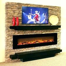 wall fireplace costco mount electric how to install an