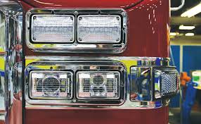 Fmvss 108 Lighting Chart Apparatus Purchasing Custom Cab Headlights Fire Apparatus