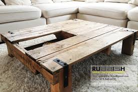 Coffee Table With Open Storage Asian Coffee Tables Modern Coffee Table  Storage