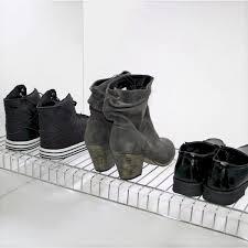 stainless steel shoe rack wall mount