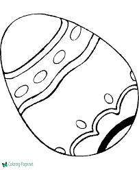 This detailed illustration would be ideal for older children or even adults. Easter Coloring Pages