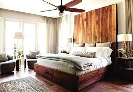 Unfinished Wood Bed Low Profile Wood Bed Frame Bedroom Modern With ...