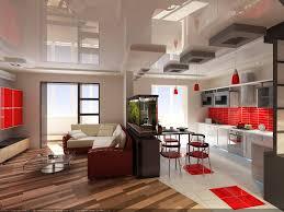 Living Room And Kitchen Design Living Room Trendy Interior Design For Living Room With Kitchen