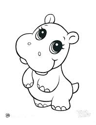 Cute Baby Coloring Pages Cute Baby Ring Pages Animal Page In The