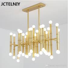 led 42 bulbs bamboo droplight jonathan adler meurice pendant lamp contemporary contracted wrought iron rectangular chandeliers pendant lamp holder diy