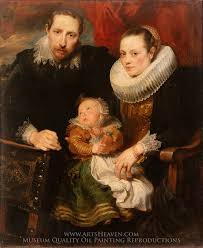 sir anthony van dyck family portrait oil painting reion