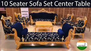 yt416 10 seater sofa set center table
