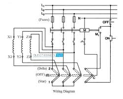 delta wiring schematic electrical wiring diagram y delta circuit diagram wiring diagram technicstar delta starter for 3 phase motormanual star delta starter