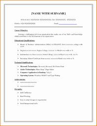 Free Simple Resume Templates Elegant Free Resume Templates Simple