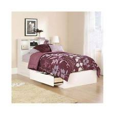 twin storage bed. Twin Bed With Storage Drawers Frame Bookcase Headboard Platform Contemporary