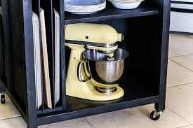 Need A Bit More Storage And Space In Your Kitchen? Learn How To Build This