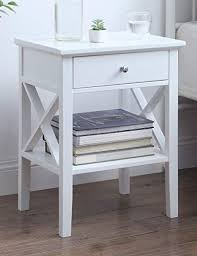 end table for bedroom bed side table