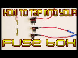 cadet how to tap into your cars fuse box safely and cleanly cub cadet how to tap into your cars fuse box safely and cleanly