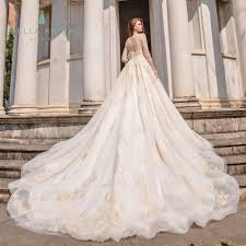Designer Bridal Gowns With Sleeves Bella Bride Guangzhou Designer Pakistani Wedding Dresses Gowns Long Sleeve Wedding Dress Bridal Gown With Golden Lace And Beads Buy Wedding Dress