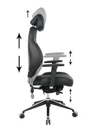fully adjustable office chair. VIVA OFFICE Ergonomic Multi-function Luxury Leather Office Chair Fully Adjustable Executive With