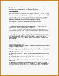 Job Objectives Resume Sample Job Objectives Valid Resume Cover Letter