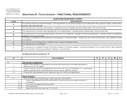 requirements document template functional requirements document template best template examples