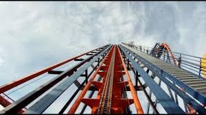 sheikra pov busch gardens ta b m dive machine roller coaster on ride