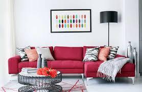 living room design red couch ksa g com