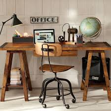 industrial style home office. Sawhorse Desk Design Ideas Industrial Style Office Home Decor  Industrial Style Home Office