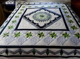 28 best Amish Star Pattern Quilts images on Pinterest | Hand ... & Stars Over the Georgetown Path Amish Quilt. Traditional Amish Quilt Pattern  filled with history and meaning. Great piecing, color palette and hand  quilting. Adamdwight.com