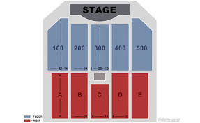 Borgata Hotel And Casino Event Center Seating Chart Flickr