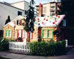 Candy Cane House Decorations Outdoor Christmas Decorations and Yard Displays RafterTales 48